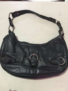 Tas mono due full leather