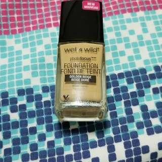 wet n wild photofocus liquid foundation golden beige