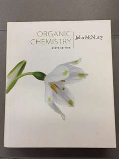 Organic Chemistry by John McMurrry 9th Edition