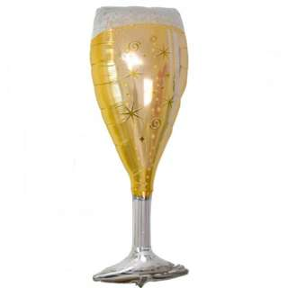 🚚 Champagne Glass Balloon