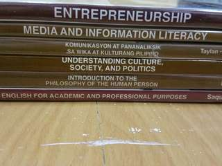 BOOKS for Senior High students