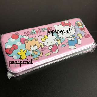 Last Set Left Hello Kitty Pencil Case Metal
