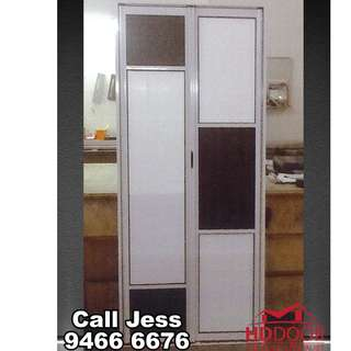 HDDoor the BI-fold toilet door and frame with install