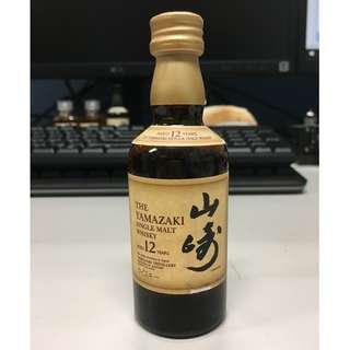 山崎12 威士忌 Yamazaki 12 Whisky 50ml 酒辦