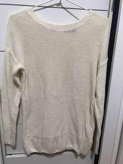 Dotti Back Zipper Knitwear XS