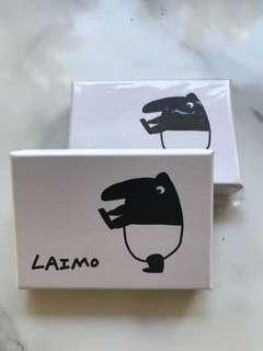 🚚 💋(LAIMO)LAIMO馬來貘 彩色名片盒(一盒64張):原價65特價50元