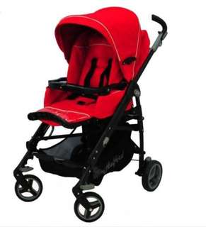 PRICE DOWN!! Halford S9 Stroller (FREE JJ Cole Stroller Pillow)