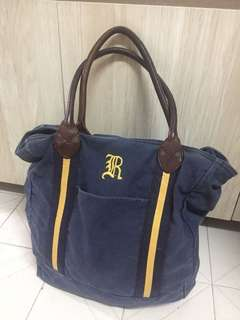 Rugby tote bag, 絕辦
