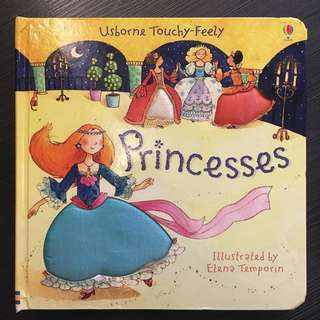 Princesses Touch & Feel Book