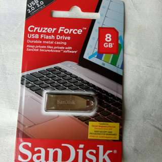 SANDISK USB FLASHDRIVE 8GB