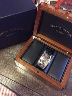 有証書有盒 Franck Muller 7502 QZ Color Dream 18K YG Lady watch