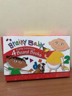Brainy Baby set books