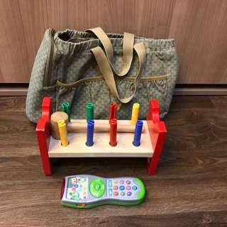 Baby Toys with free baby bag