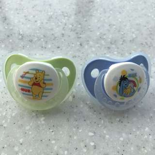 Nuk Latex Pacifiers 0-6 months