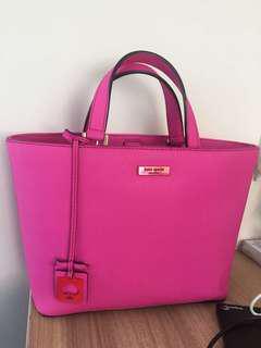 Authentic Kate Spade Handbag Fuchia