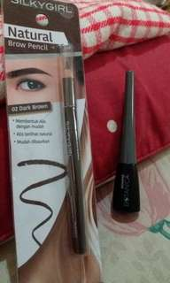 Paket hemat eyebrow + eyeliner