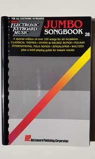 Jumbo Songbook and Easy Electronic Keyboard Music