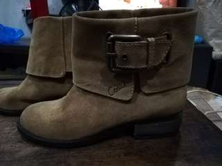 Coach Poppy Leather Boots