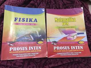Buku modul prosus inten matematika ipa & fisika saintek