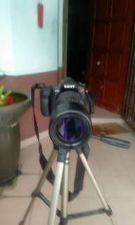 Sony camera with 300 zoom