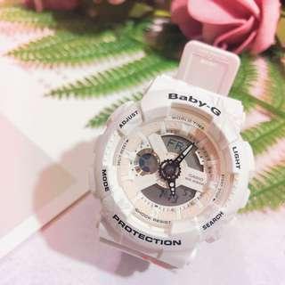 全新 BABY-G 系列 夏日海灘風情🌸🌼🌹 白色又有d淡粉色 超粉嫩