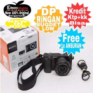 Sony Alpha A6000 Kit 16-50mm Resmi Cash/kredit Dp1jt ditoko Call/wa;081905288895