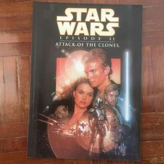 Star Wars Episode II - Attack of the Clones (Graphic Novel) Paperback