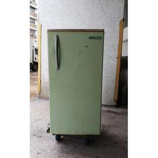 古董古老日立單門雪櫃Hitachi Refrigerator R-142H 日本製造
