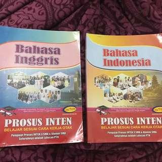 Buku modul prosus inten bahasa indonesia & bahasa inggris sbmptn simak