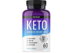 [IN-STOCK] Keto Pro Diet - Advanced Keto Weight Loss Supplement - Ketogenic Fat Burner - Supports Healthy Weight Loss - Burn Fat Instead of Carbs - 30 Day Supply