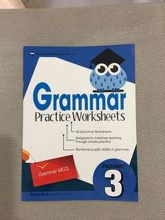 Grammar practice worksheet P3