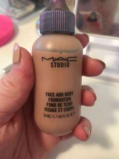 Mac face and body liquid bronzer