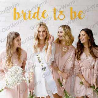 BRIDES TO BE PARTY PACK!