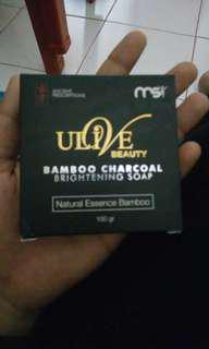 Bamboo charcoal soap #maudecay
