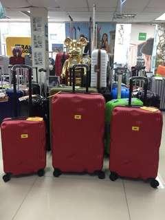 阿豪新貨上架 意大利 Crash Baggage 破損箱 最新系列 紅色 直條 28吋 行李箱