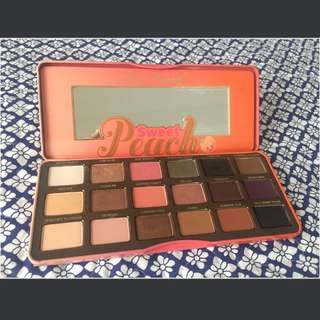 Preloved TOO FACED Sweet Peach Palette