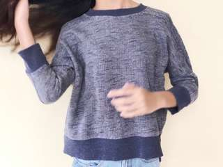 Sweater Zara Biru Jeans