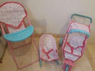 ELC cupcake nursery complete set