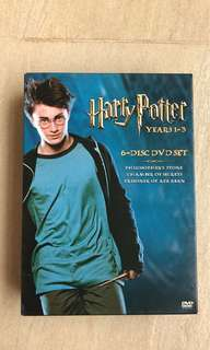 Harry Potter Years 1-3 Movie DVD