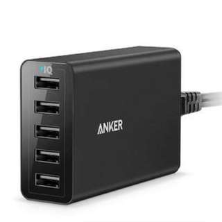 Anker PowerPort 2-Port 24W USB Wall Charger iPhone iPad Samsung