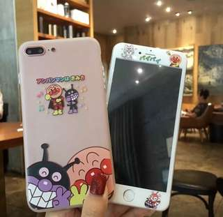 iPhone case + sticker 6/6P/7/7p