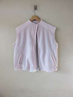 Authentic Bally Fleece Vest Large