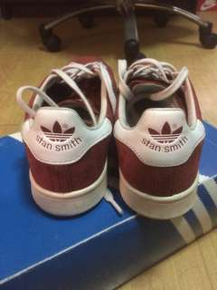 stan smith red suede