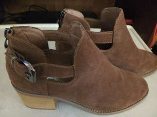 Leather Suede shoes