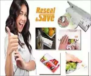 Reseal & Save Sealing Machine