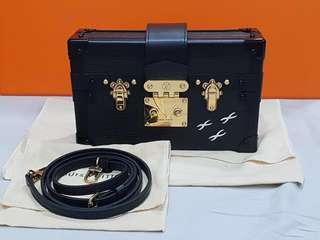 Louis Vuitton Petite Malle Black EPI