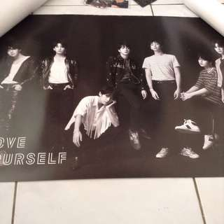 BTS Love Yourself Tear Posters (O & U)