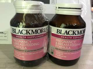 Blackmore health supplement for pregnancy & breast-feeding formula