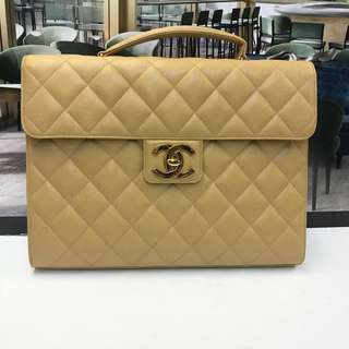 Chanel Leather Briefcases