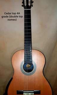 Aiersi Custom Double top Classical Guitar